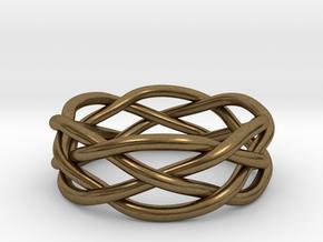 Dreamweaver Ring (Size 12) in Natural Bronze