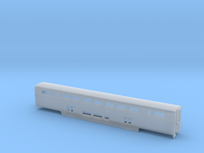n scale Amtrak Surfliner Cafe Coach  in Smooth Fine Detail Plastic