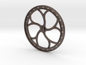"D&RGW BRAKE WHEEL - 2.5"" Scale in Stainless Steel"