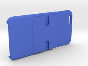 iPhone 6+/6 PLUS Dash/Windshield Mountable Case in Blue Processed Versatile Plastic