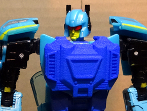 Gen. Siren (G1 Version) Chestplate in Blue Strong & Flexible Polished