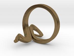 Kiekura, Size 6.5 (16.9 mm) in Natural Bronze