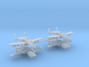 1/285 Two-Seater A-10 Thunderbolt II (Armed) (x2) in Smooth Fine Detail Plastic