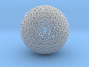 Diamond Sphere Mesh in Smooth Fine Detail Plastic