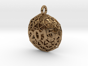New Year Ball 2015 in Natural Brass