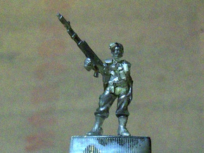 28mm SciFi Empire Guards sergeant  in Frosted Extreme Detail