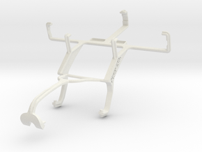Controller mount for Xbox 360 & Yezz Andy A3.5EP in White Natural Versatile Plastic