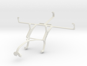 Controller mount for Xbox 360 & verykool s758 in White Natural Versatile Plastic