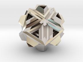 Icosa Dill - 2.4cm in Platinum
