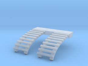 O Scale Roof Ladders for B&QT 8000 Trolley in Frosted Ultra Detail