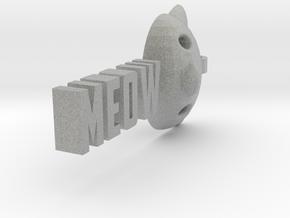 Meow pendant by it's a CYN! in Metallic Plastic