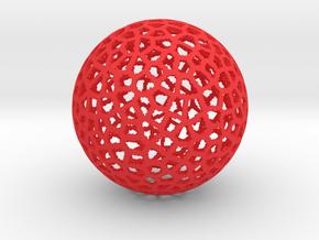 Voro STL Thickness in Red Processed Versatile Plastic
