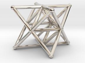 Rod Merkaba Supports 3cm in Platinum