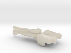 Gettysburg Heavy Frigate 1:7000 scale in White Acrylic