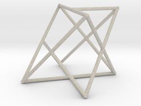 Rod Merkaba OpenBase 2cm in Natural Sandstone