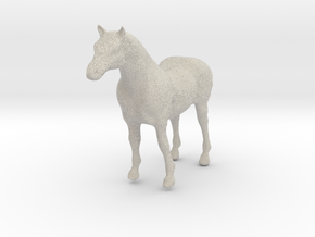 Horse Sym Sculp 2 Rotated in Natural Sandstone
