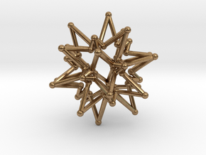 StarCore 2 Layers - 2.6cm in Natural Brass