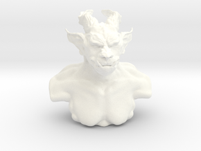 Troll bust in White Processed Versatile Plastic