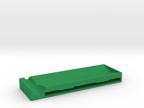 Rolling Mat - for rolling cigarettes. in Green Strong & Flexible Polished