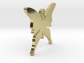 CHRISTMAS BUTTERFLY (Pendant Or Earring) in 18k Gold