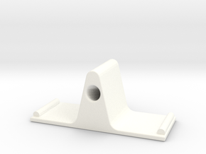 Eyeglass Stand II in White Processed Versatile Plastic