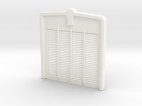 W900L Grill 1 in White Processed Versatile Plastic