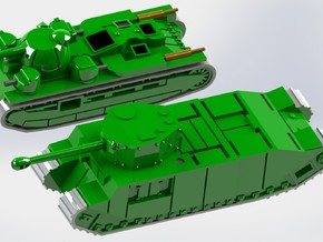 British Independent & TOG Tank 1/200 Single Models in Smooth Fine Detail Plastic