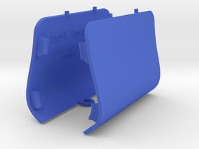 PAIR Front Jack Point Covers Saab 9-3 Aero Viggen in Blue Processed Versatile Plastic