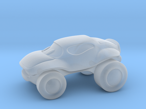Smaller buggy in Smooth Fine Detail Plastic