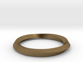 Mobius Wedding Ring-Size 8 in Natural Bronze