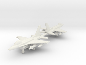 1/285 F-16C Block 52+ (Single seat) (x2) in White Strong & Flexible