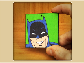 Batman Toon Ornament in Full Color Sandstone