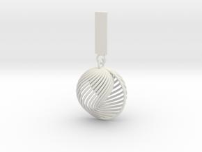 Quark Pendant - Eternal (1SyhNA) in White Strong & Flexible
