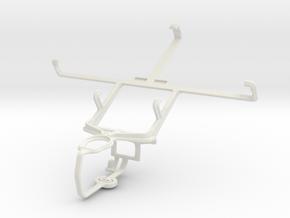 Controller mount for PS3 & Prestigio MultiPhone 53 in White Natural Versatile Plastic