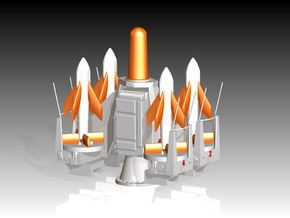 Seacat Launcher Kit x 2 1/96 in Smooth Fine Detail Plastic