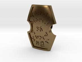 Maharlika Artifact Pendant in Natural Bronze