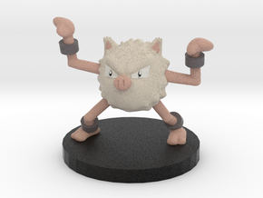 Primeape Pokemon in Full Color Sandstone