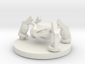Metagross Pokemon in White Natural Versatile Plastic