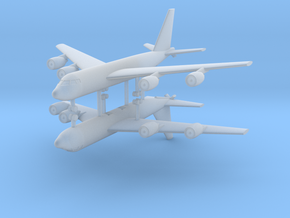 1/700 KC-135 Stratotanker (x2) in Smooth Fine Detail Plastic