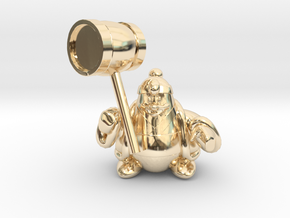 King dedede from the kirby series in 14K Yellow Gold