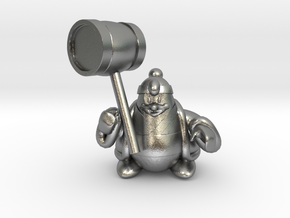 King dedede from the kirby series in Natural Silver