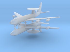 1/700 E-3G Sentry (x2) in Smooth Fine Detail Plastic