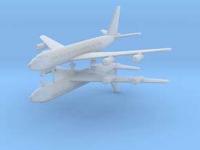 1/700 707-138B Passenger Aircraft (x2) in Smooth Fine Detail Plastic