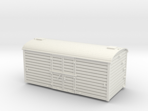 00 GWR Diagram X9 MICA B Body in White Natural Versatile Plastic
