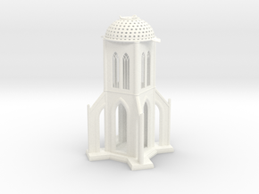 The Starch-Bishop's Palace in White Processed Versatile Plastic