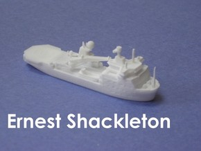 RRS Ernest Shackleton (1:1200) in White Natural Versatile Plastic: 1:1200