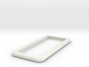IPhone6 Dummy 3mm in White Natural Versatile Plastic