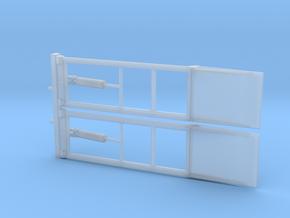 1/87 Az/meus/2tlg/offen in Smooth Fine Detail Plastic