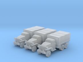 6mm Studebaker truck 6x6 (3) in Frosted Ultra Detail