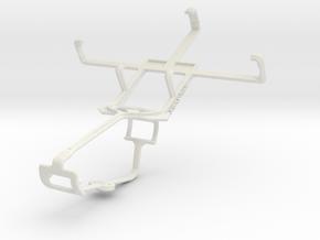Controller mount for Xbox One & Vodafone Smart Min in White Natural Versatile Plastic